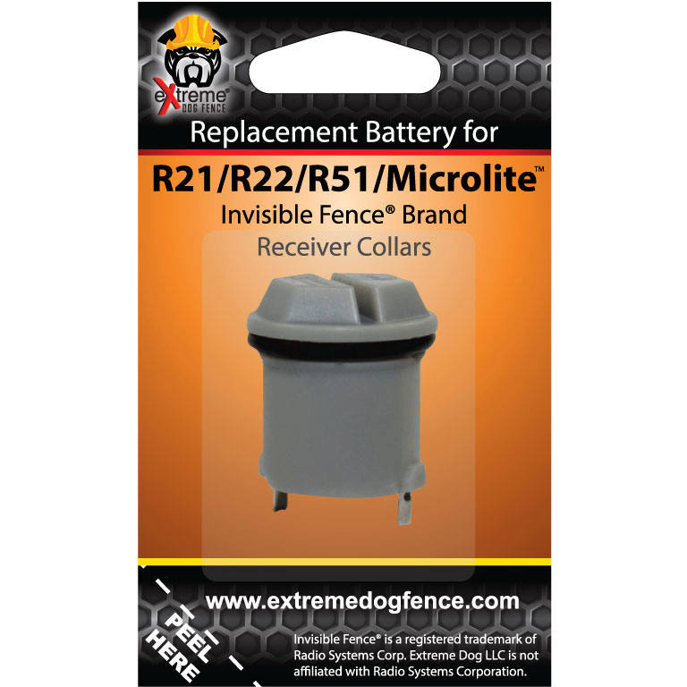 Extreme Dog Fence Invisible Fence 174 Compatible Collar Batteries