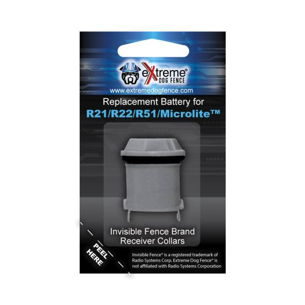 Replacement battery for Invisible Fence