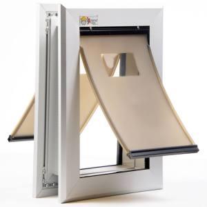 Dual Flap Dog Door