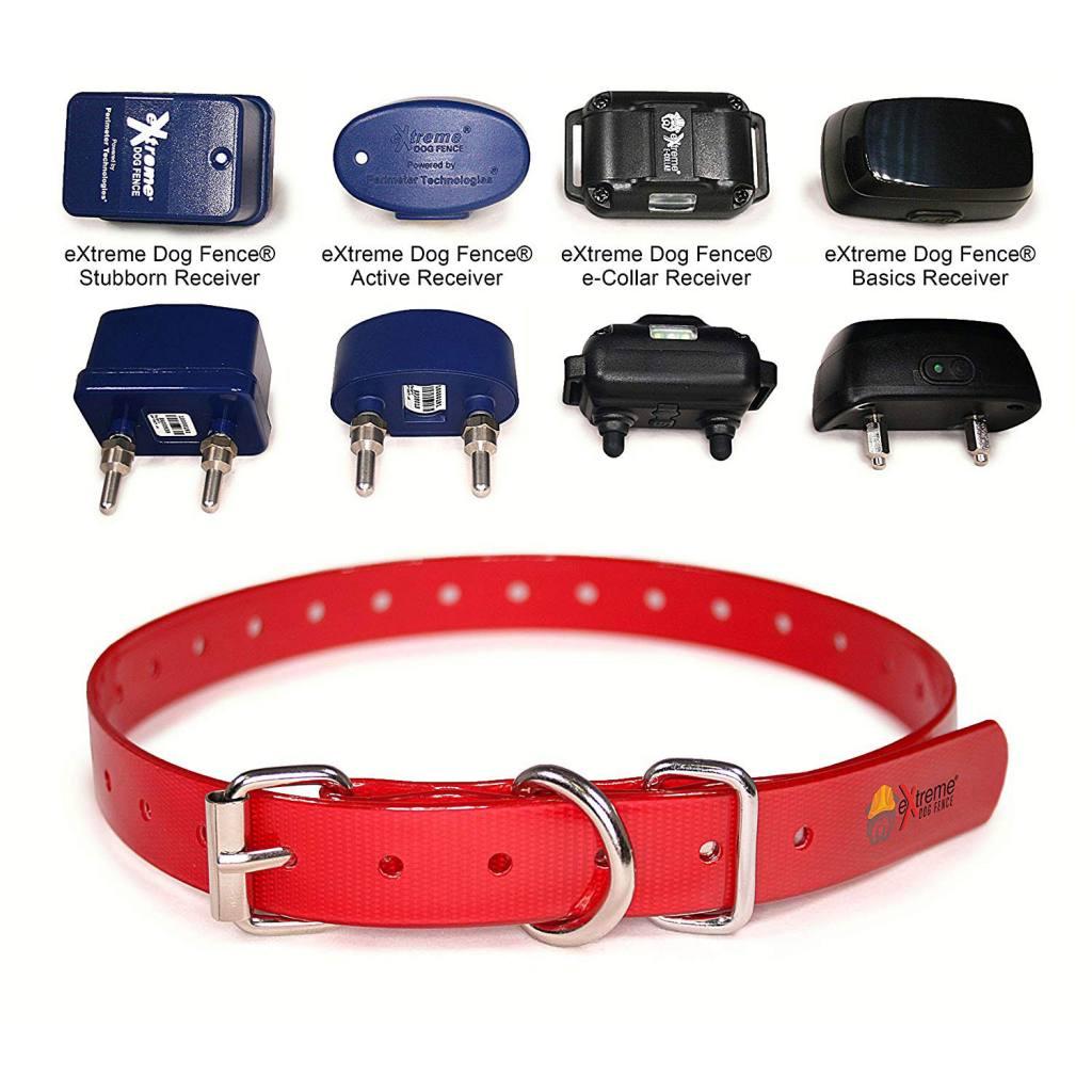 Extreme Dog Fence Tpu Coated Nylon Collar Strap Extreme