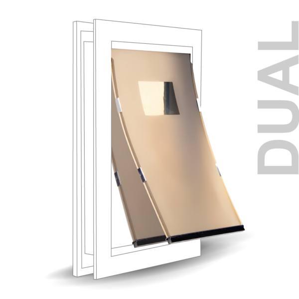 Replacement Door Dual Flap