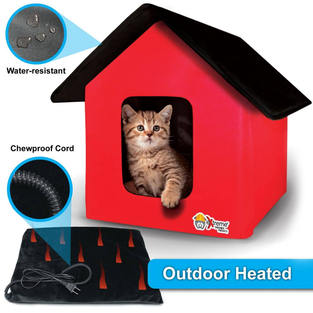 Cat House With Heated Bed Extreme Electric Dog Fence 2021 Diy Kits