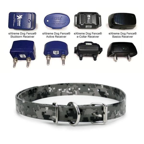 Camo Gray TPU receivers